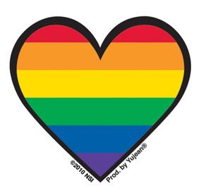 GayPrideHeart